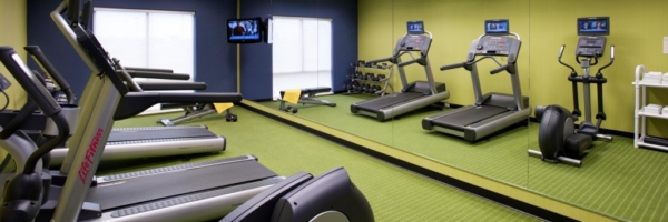 Hotel photographer, fitness and recreational architectural photography