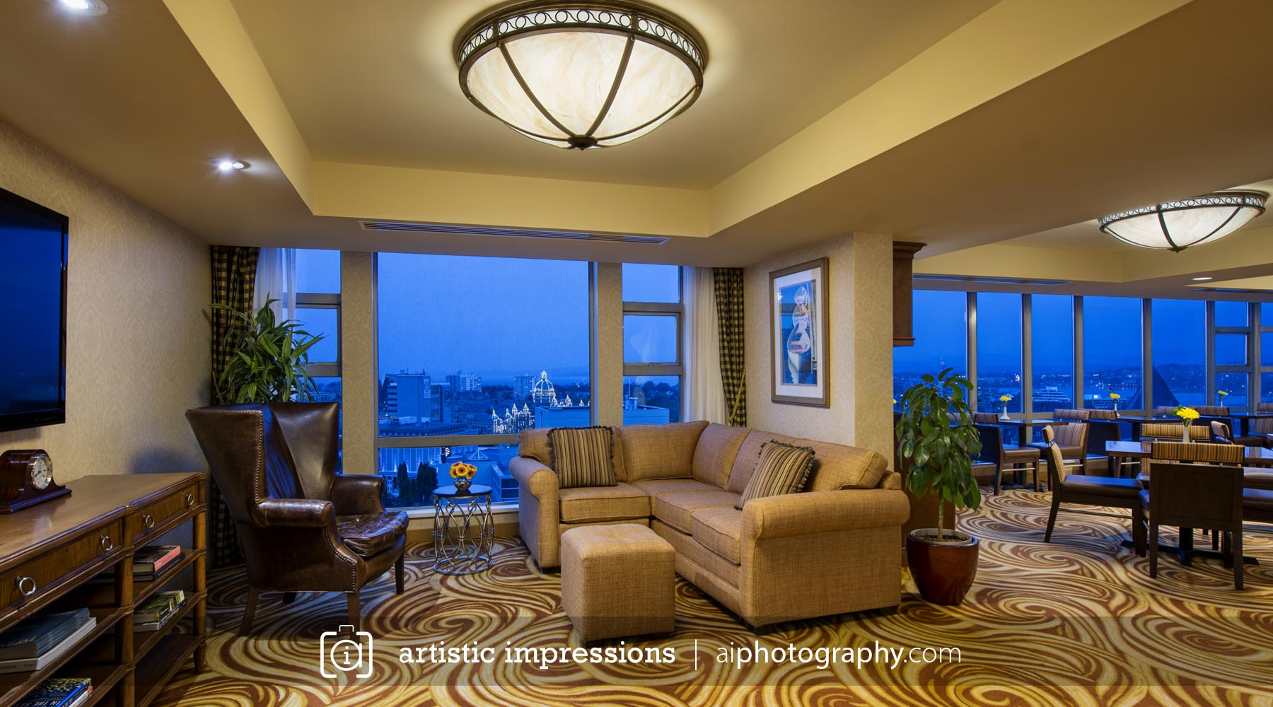 A Commercial Interior Hotel Hospitality Photographer